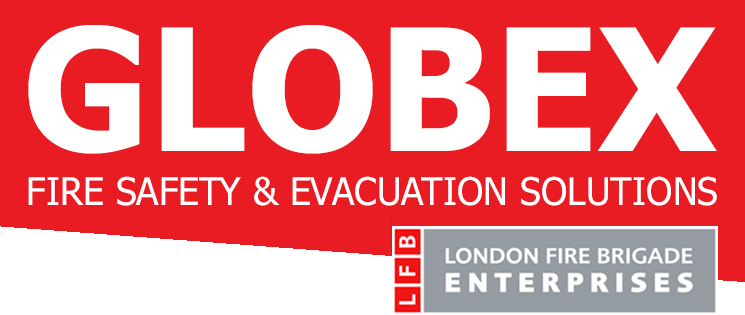 GLOBEX Evacuation Fire Safety & Evacuation Solutions Logo